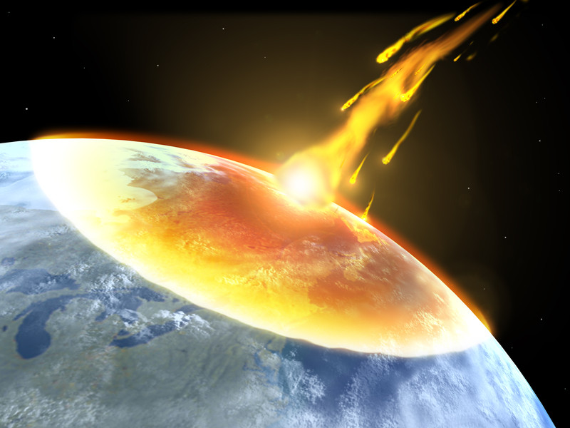 Vente de météorite