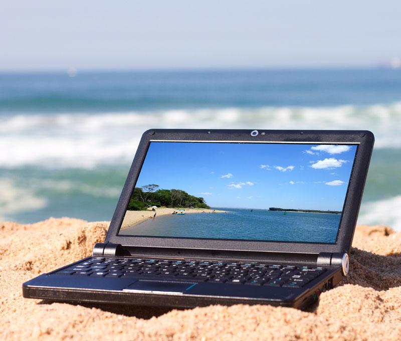 Vacances ordinateur