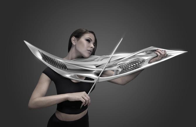 Violon futuriste