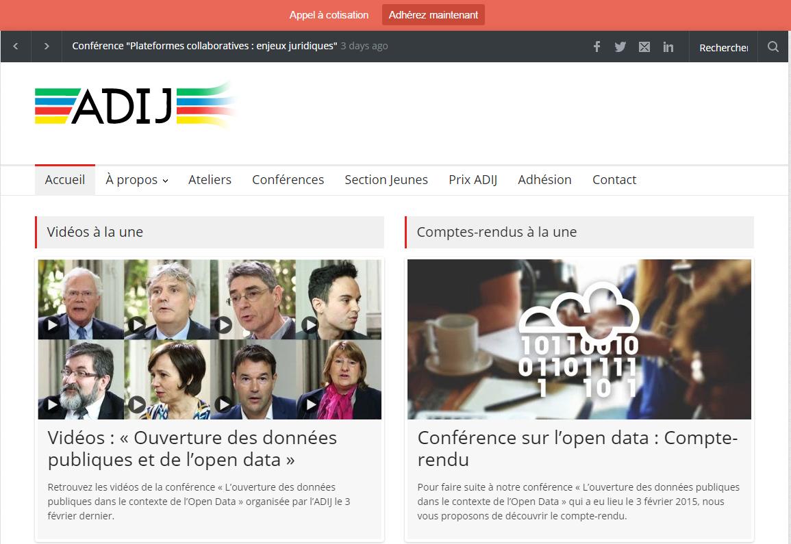 Site Internet de l'ADIJ http://www.adij.fr/